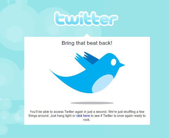 twitter upgrading